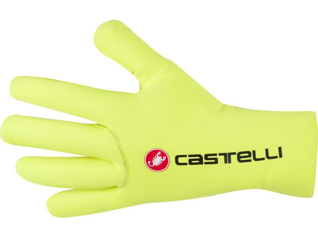 Castelli Diluvio C Rękawiczki, yellow fluo
